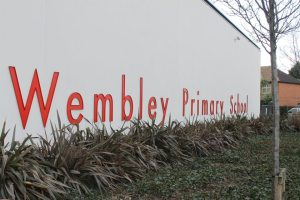 Wembley Primary School, where I'm incredibly proud to be a Governor.