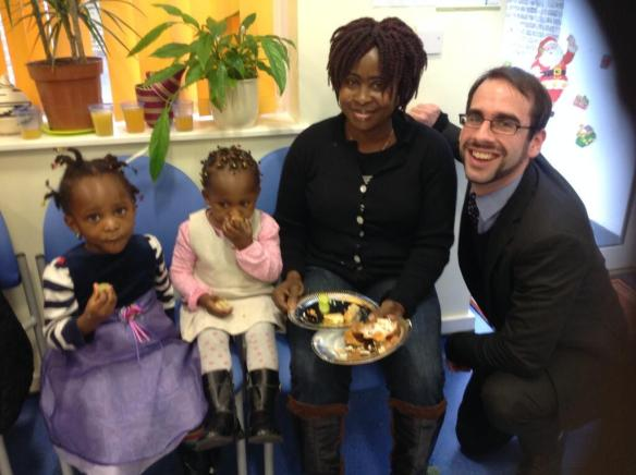 Visiting a Sure Start Centre in Harlesden
