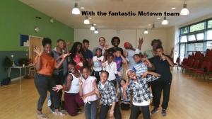 With the fantastic Motown team
